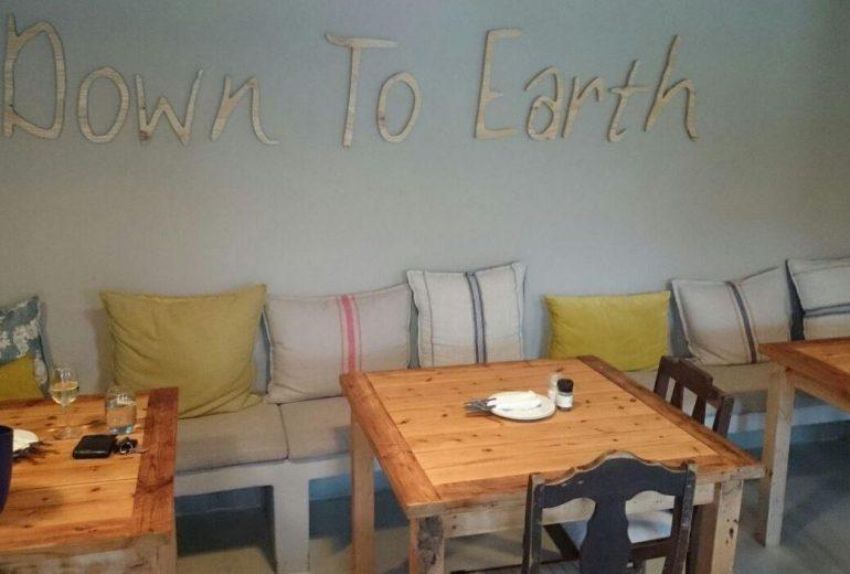 Down to Earth restaurant in Plett