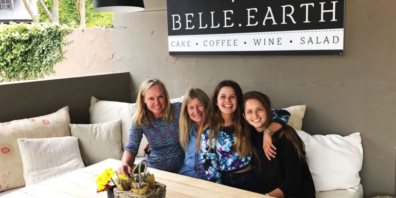 belle-earth-opening-night-kathy-de-kock-suzie-lubner-gabriella-and-emma
